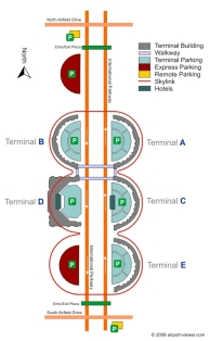 dfw-terminal-map